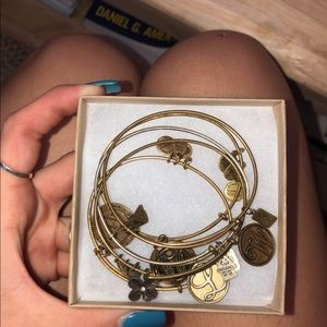 vintage Alex & Ani bracelets